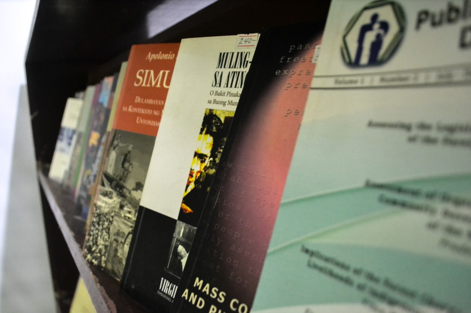 The University Bookstore offers books published by UP Press.