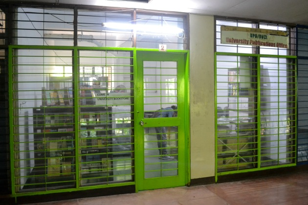 LOOK: The University Bookstore, located at Rm. 2, Student Union Building basement floor, in its weekday operations.